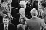 Gerald Ford Surrounded by Members of the 94th Congress