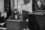 Gerald Ford Addressing Congress