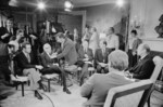 President Gerald Ford Preparing for a TV Interview