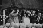 Gerald Ford Tossing a Watermelon