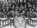 William H. Taft Administering the Oath of Office to Herbert Hoover