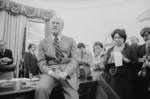 President Gerald Ford Talking With Reporters