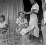 African American Women on a Porch