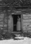 Caroline Atwater Standing in Doorway