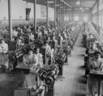 Women Working in Cigarette Factory