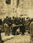 Pilgrims Buying Food, 1913