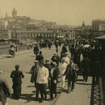 Scene on the Galata Bridge