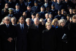 Vice President Dick Cheney, Ford Funeral
