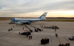 Carrying Gerald Ford Casket From Plane