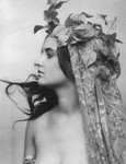 Woman With Vines on Head