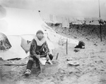 Inuit Doing Laundry