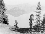 Klamath Indian Chief at Crater Lake