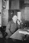 Henry Morgenthau on a Telephone