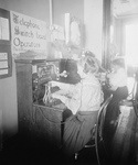 Blind Girls Operating Switchboards