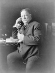 William Howard Taft on Phone