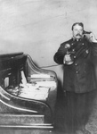 Inspector McCafferty Using Telephone