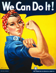 Stock Photo of We Can Do It! Rosie the Riveter