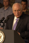 Dick Cheney Giving a Speach