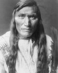 Head-Dress, an Atsina Indian Man