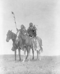 Atsina Native Chiefs on Horses