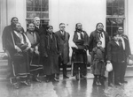 Osage Indians at the White House
