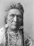 Crow Indian Man Called Wolf