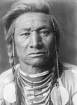 Crow Indian Man Called Chief Child