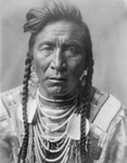 Crow Native American Called Strike On his Hea