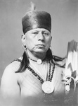 Osage Native American Chief Called Bacon Rind