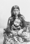Osage Mother and Child
