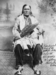 Osage Indian Chief, Peter Bighart