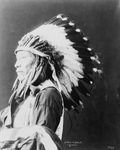 Sioux Indian Named Afraid of Eagle