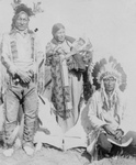 Sioux Indians, Grey Eagle and Family, Near Tipi