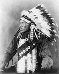 Sioux Indian Man Named Red Bird