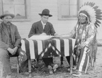 Chief American Horse Becoming an American Citizen