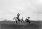 Sioux Indians on Horses