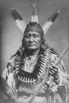 Sioux Indian Man, Rushing Eagle