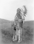 Brule Native American Man Named High Hawk