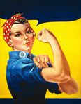 Stock Picture of Rosie the Riveter