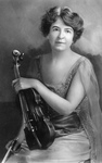 Maud Powell With Violin