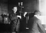 Efram Zimbalist With Violin