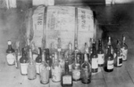 Confiscated Whiskey During Prohibition