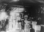 Confiscated Boxes of Alcohol in a Warehouse, Prohibition
