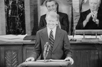 Jimmy Carter Addressing a Joint Session of Congress
