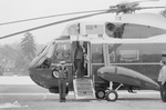 Jimmy Carter Boarding Marine One and Waving Goodbye