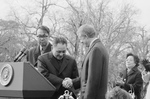 Jimmy Carter Shaking Hands With Deng Xiaoping