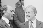 Jimmy Carter and Anwar Sadat