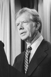 President Jimmy Carter Discussing the Iran Hostage Crisis
