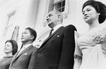 Lady Bird and Lyndon Johnson With President and Mrs. Ferdinand Marcos