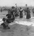 Swimmers at Coney Island